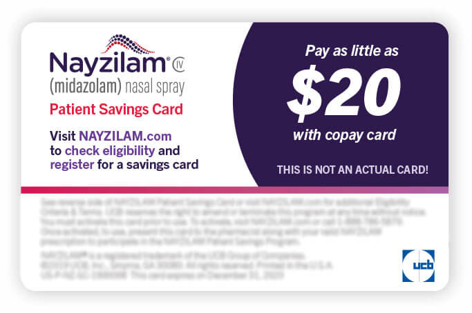 Savings card
